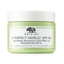 Origins A Perfect World™ SPF 40 Age-defense moisturizer with White Tea  (Sejas krēms ar SPF 40)
