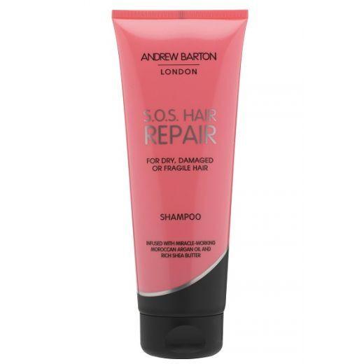 Andrew Barton S.O.S. Hair Repair Shampoo  (Šampūns sausiem un bojātiem matiem)