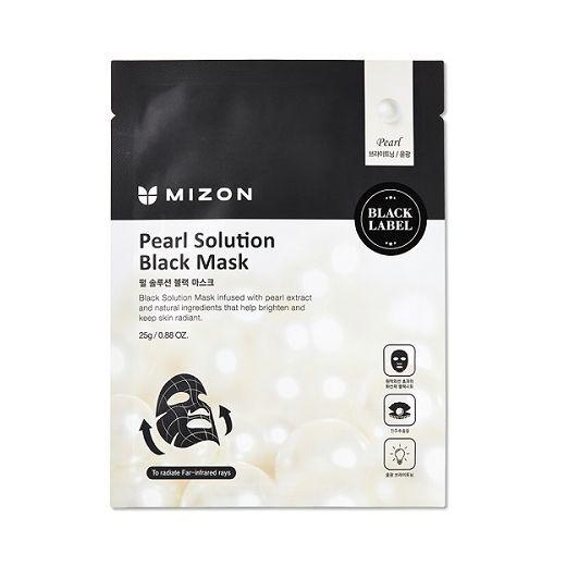 Mizon Pearl Solution Black Mask  (Sejas maska)