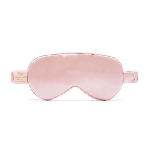 Crystallove Silk Eye Mask - Rose  (Acu maska no zīda – rose)