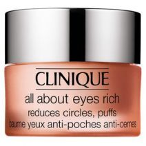 Clinique All About Eyes Rich 15 ml  (Acu krēms, kas samazina tumšos lokus un pietūkumu)