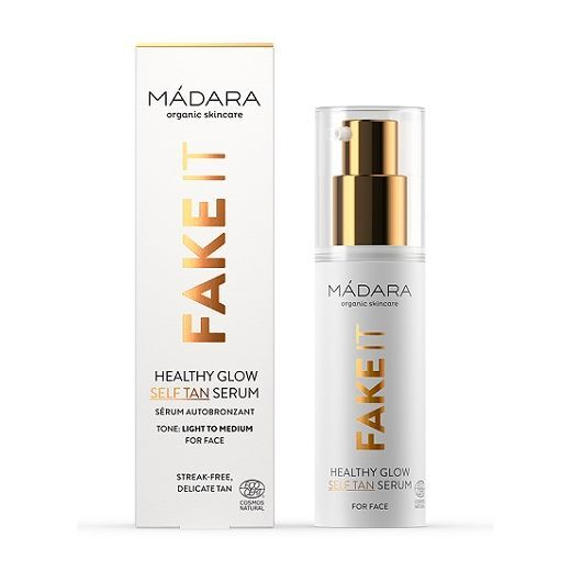 Madara Fake It Healthy Glow Self Tan Serum  (Paštonējošs serums sejas ādai)