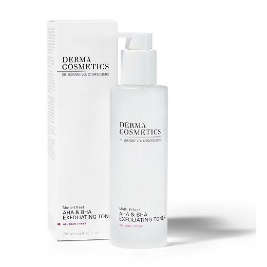 Dermacosmetics Multi-Effect AHA & BHA Exfoliating Toner  (Eksfoliējošs toniks)