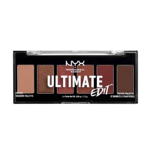 NYX Professional Makeup Ultimate Edit Petite Palette  (Acu ēnu palete)