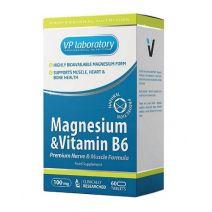 VPlab Magnesium + B6   (Uztura bagātinātājs)