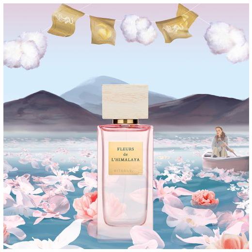 Rituals Fleurs de l'Himalaya Eau de Parfum (Parfimērijas ūdens sievietei)