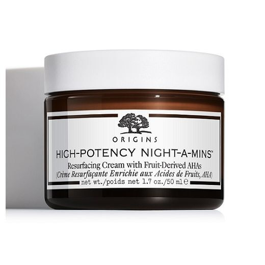 Origins High-Potency Night-A-Mins™ Resurfacing Cream With Fruit-Derived AHA  (Mitrinošs nakts krēms