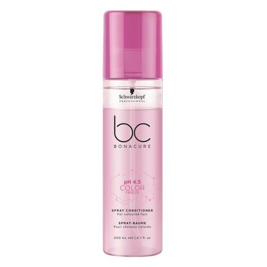 Schwarzkopf BC Bonacure pH 4.5 Color Freeze Spray Conditioner  (Izsmidzināms kondicionieris krāsotie