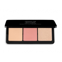 Douglas Make Up Must-Have Face Palette  (Mirdzošs pūderis)