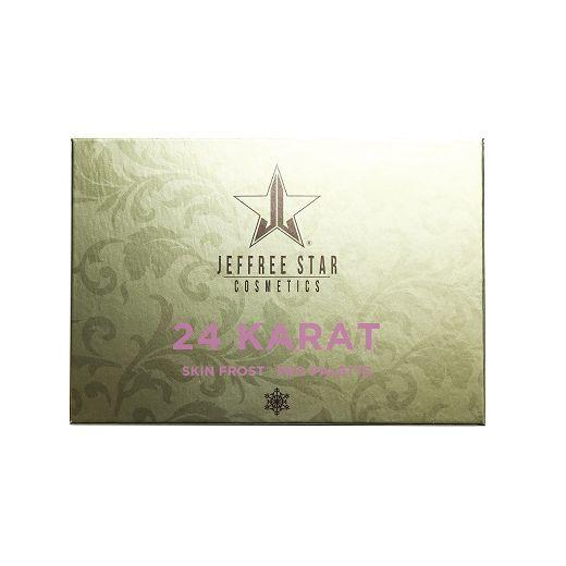 Jeffree Star Cosmetics Skin Frost 24 Karat  (Acu ēnu palete)
