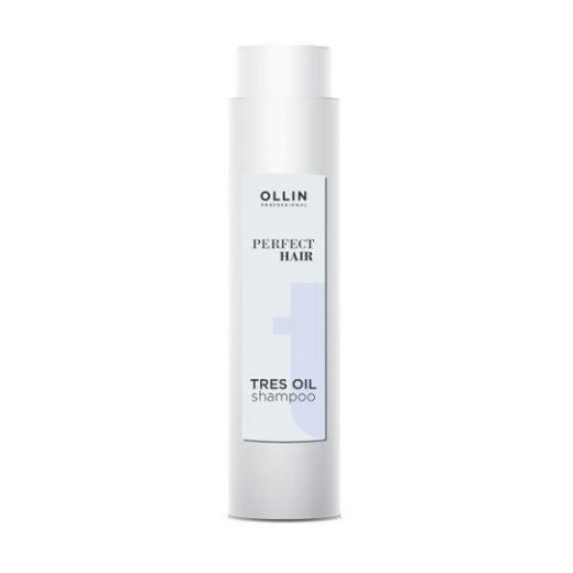 OLLIN Professional   Perfect Hair Tres Shampoo  (Atjaunojošs šampūns)