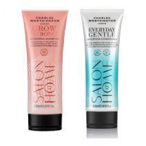 Charles Worthington Grow Strong Shampoo + Everyday Conditioner  (Matu kopšanas komplekts)