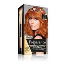 L'Oreal Paris Preference Hair Color 7.4  Mango  (Matu krāsa)