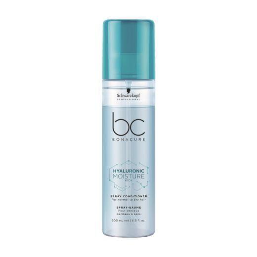 Schwarzkopf BC Bonacure Hyaluronic Moisture Kick Spray Conditioner  (Izsmidzināms kondicionieris mat