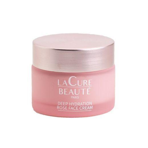 La Cure Beauté Deep Hydration Rose Face Cream  (Dziļi mitrinošs sejas krēms)