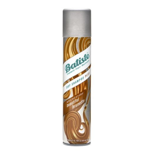Batiste Medium & Brunette Dry Shampoo  (Sausais šampūns brūniem matiem)