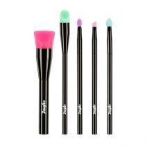 Douglas Make Up 5 Silicone Make-Up Brush Kit  (Silikona otu komplekts)