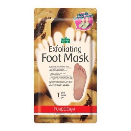 Purederm Exfoliating Foot Mask Small  (Pēdu maska - zeķes ar pīlinga efektu)