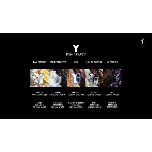 Yves Saint Laurent Y Men EDT  (Tualetes ūdens vīrietim)