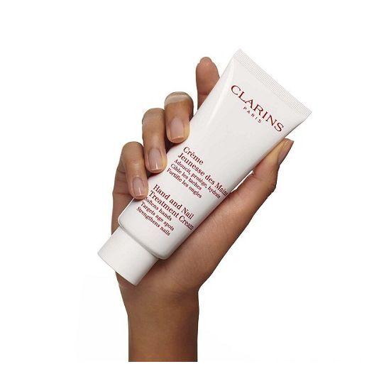 Clarins Hand and Nail Treatment Cream  (Roku un nagu krēms)