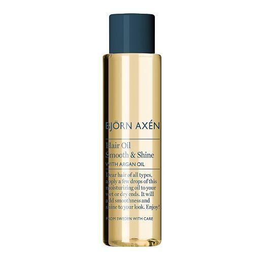 BJORN AXEN Hair Oil Smooth & Shine with Argan Oil  (Argana matu eļļa)
