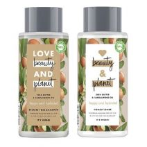 Love Beauty and Planet Shea Butter and Sandalwood Oil Shampoo + Shea Butter and Sandalwood Oil Condi