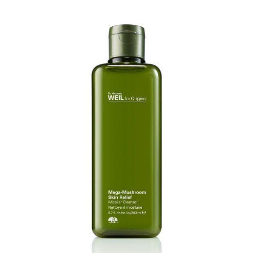 Orginis Mega-Mushroom Skin Relief Micellar Cleanser 200 ml  (Micelārais ūdens)