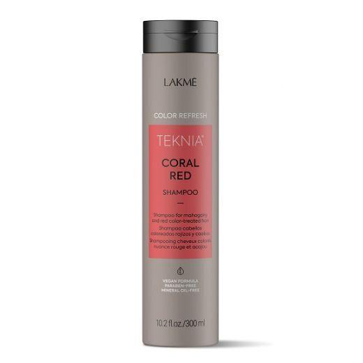 Lakmé Teknia Refresh Coral Red Shampoo  (Mahagoni un sarkanas krāsas atjaunojošs šampūns)