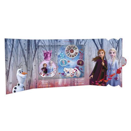AIR - VAL International Frozen 100 ml EDT + Manicure Kit  (Aromāta komplekts meitenei)