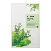 Mizon Joyful Time Essence Mask Herb  (Sejas maska ar ārstniecības augiem)