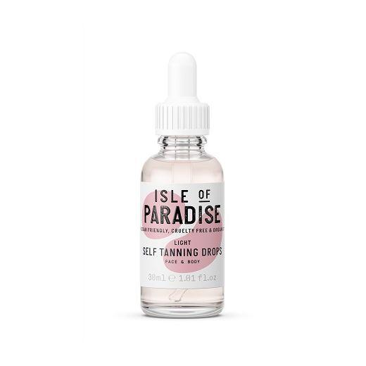 Isle of Paradise Light Self Tanning Drops   (Paštonējošie pilieni)