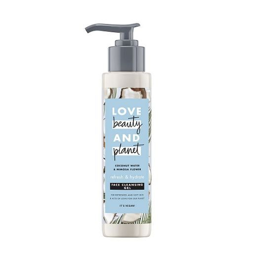 Love Beauty and Planet Coconut Water & Mimosa Flower Face Cleanser  (Attīroša želeja sejai)