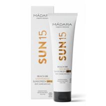 Madara Beach BB Shimmering Sunscreen SPF 15  (Mirdzošs saules aizsargkrēms SPF 15)