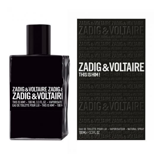 Zadig & Voltaire This is Him(Tualetes ūdens vīrietim)