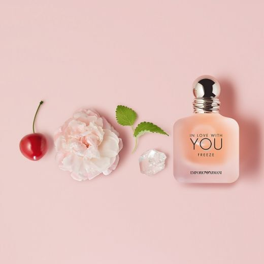Emporio Armani In Love With You Freeze  (Parfimērijas ūdens sievietei)