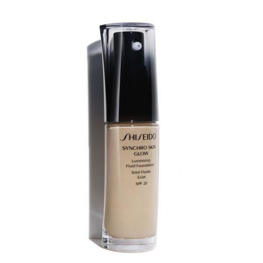 Shiseido Synchro Skin Glow Luminizing Fluid Foundation SPF 20  (Tonālais krēms ar mirdzumu)