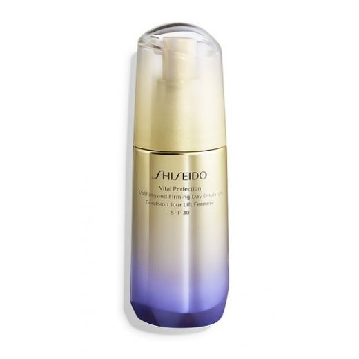Shiseido Vital Perfection Uplifting and Firming Day Emuslion SPF 30  (Ādu paceļošs un nostiprinošs k