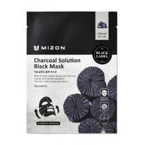Mizon Charcoal Solution Black Mask  (Sejas maska)