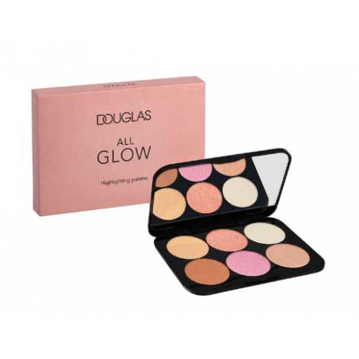 Douglas Make Up All Glow Highlighting Palette  (Izgaismojoša palete)