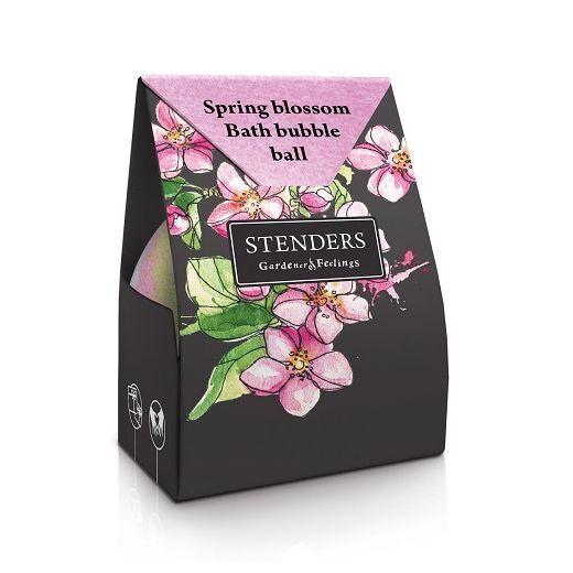 STENDERS Spring Blossom Bath Bubble Ball  (Pavasara ziedu vannas burbuļbumba)