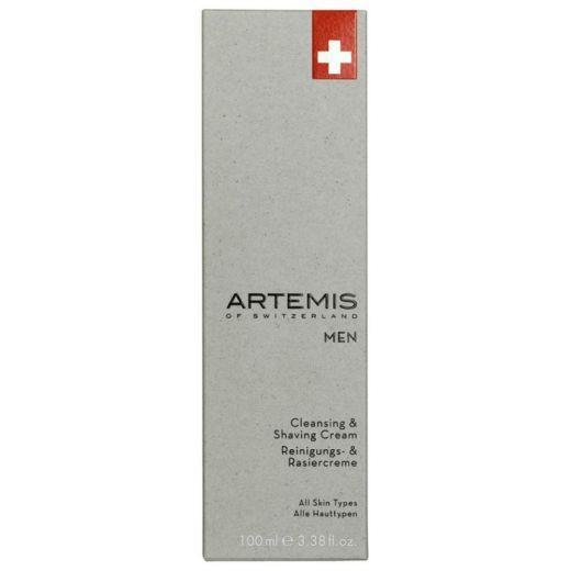 Artemis Men Cleansing & Shaving Cream (Attīrošs skūšanās krēms)