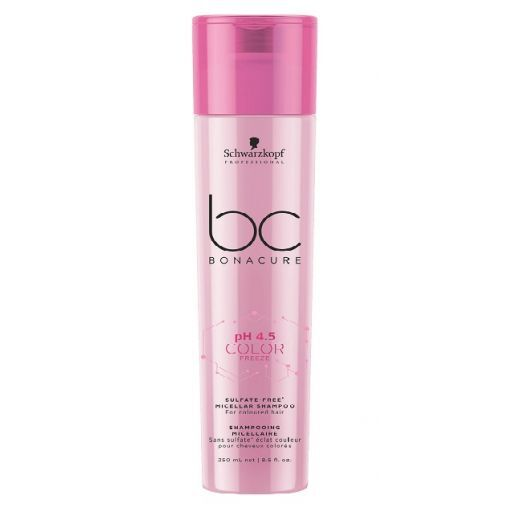 Schwarzkopf Professional BC Bonacure pH 4.5 Color Freeze Sulfate-Free Micellar Shampoo  (Micelārais