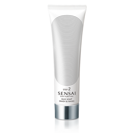 Sensai Silky Purifying Mud Soap (Wash & Mask)  (Attīrošas ziepes/maska sejai) - Solis 2
