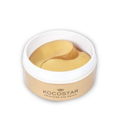 Kocostar Princess Eye Patch Gold   (Atsvaidzinoša un mitrinoša hidrogēla maska acu zonai)