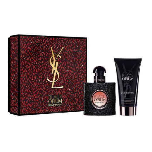 Yves Saint Laurent Black Opium Xmas Set 20  (Aromāta dāvanu komplekts sievietei)