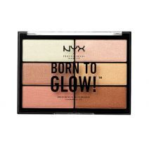 NYX Professional Makeup Born To Glow Highlighting Palette  (Izgaismojoša palete)