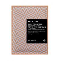 Mizon Enjoy Vital-Up Time Anti-Wrinkle Mask  (Atjaunojoša sejas maska)