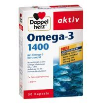 Doppelherz Omega-3 1400 mg  (Zivju eļļa)