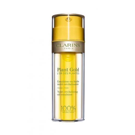 Clarins Plant Gold  (Mitrinoša sejas eļļa - emulsija)