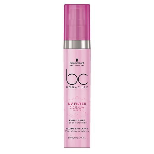 Schwarzkopf Professional BC Bonacure UV Filter Color Freeze Liquid Shine  (Serums matu mirdzumam ar